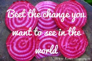 Beet the Change