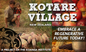 Kotare Village New Zealand Embrace a regenerative future today